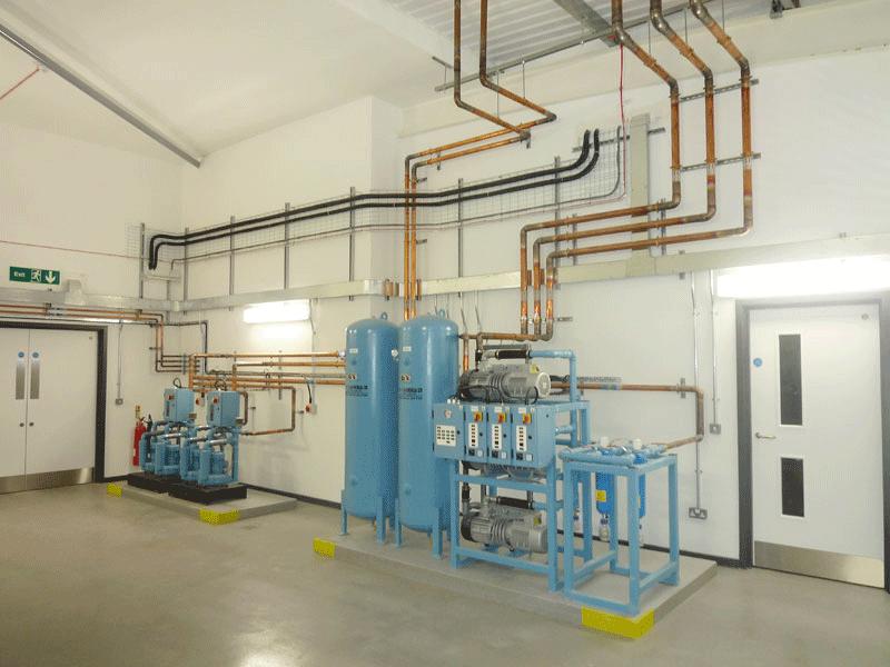 kiểm định hệ thống khí y tế